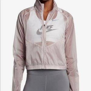Nike Transparent Running Jacket Packable Small